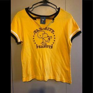 Snoopy Varsity shirt
